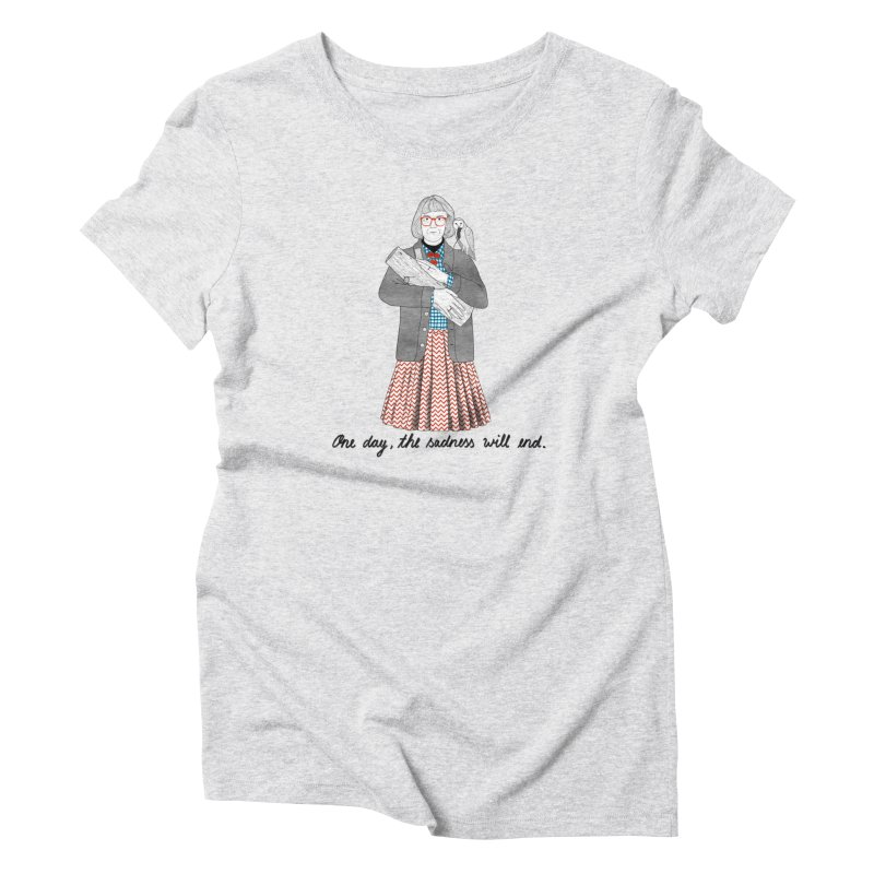 The Log Lady Women's Triblend T-Shirt by juliabernhard's Artist Shop