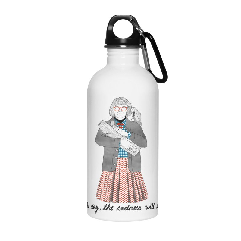 The Log Lady Accessories Water Bottle by juliabernhard's Artist Shop