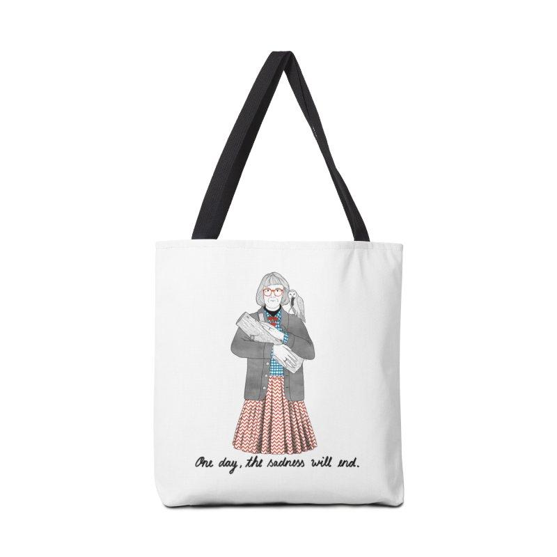 The Log Lady Accessories Bag by juliabernhard's Artist Shop