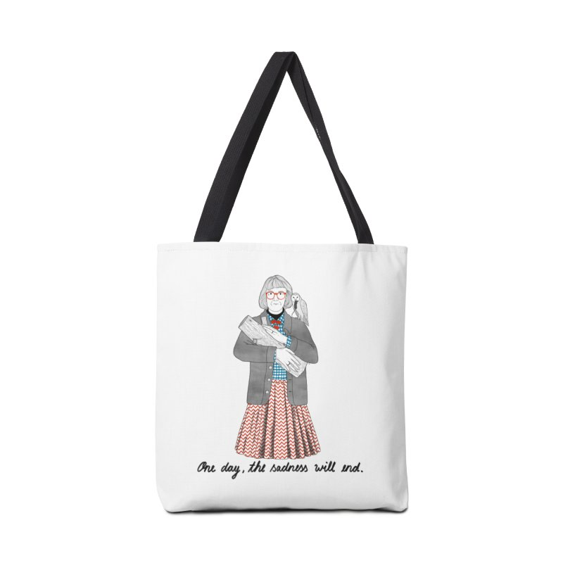 The Log Lady Accessories Bag by juliabernhard's Artist Shop