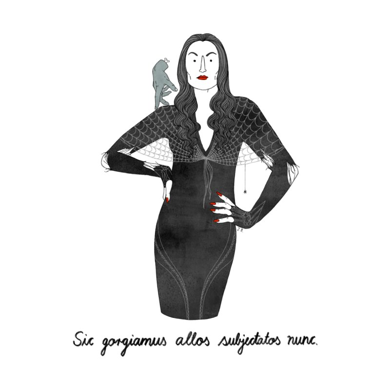 Morticia Addams by Julia Bernhard