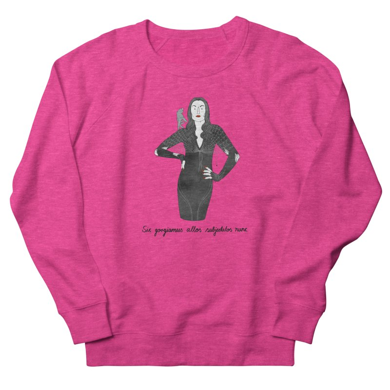 Morticia Addams Women's French Terry Sweatshirt by juliabernhard's Artist Shop