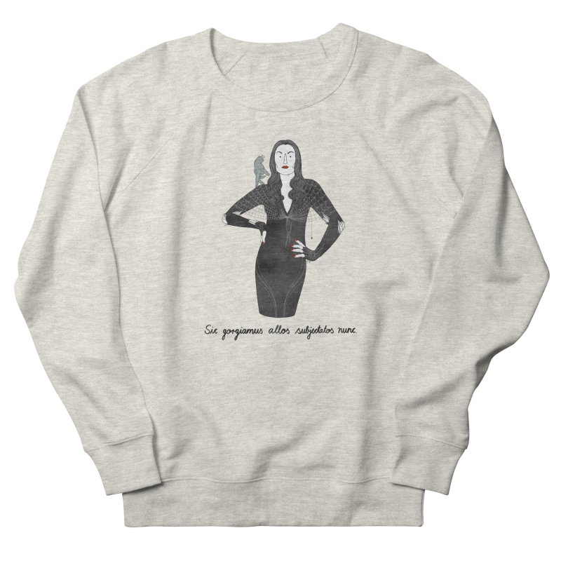 Morticia Addams Women's French Terry Sweatshirt by juliabernhard's Artist Shop