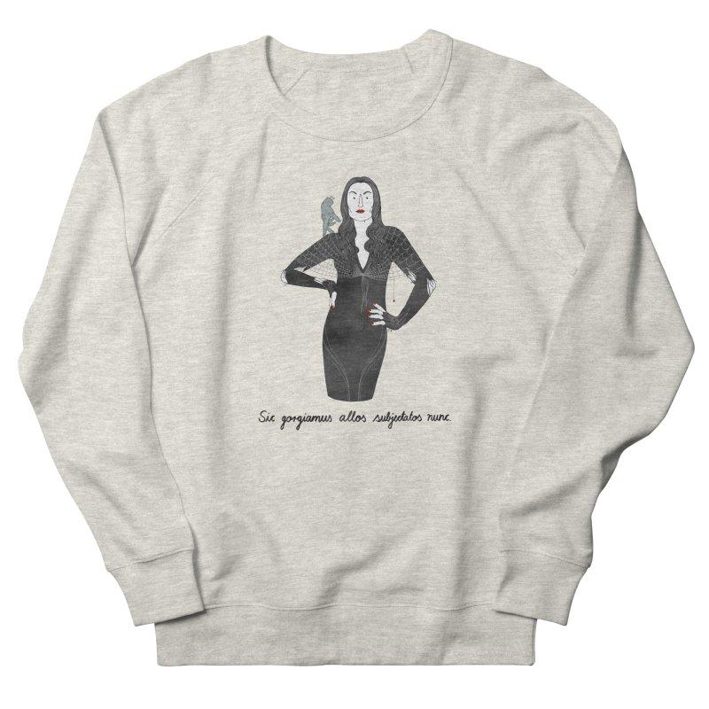 Morticia Addams Men's French Terry Sweatshirt by juliabernhard's Artist Shop