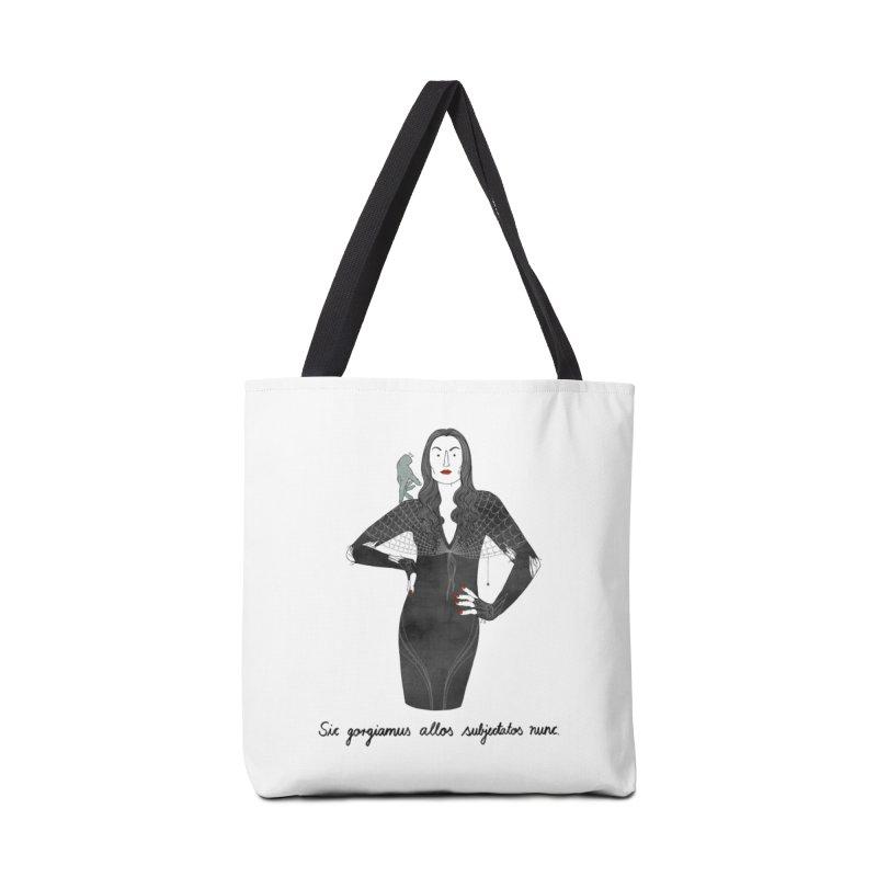 Morticia Addams Accessories Bag by juliabernhard's Artist Shop