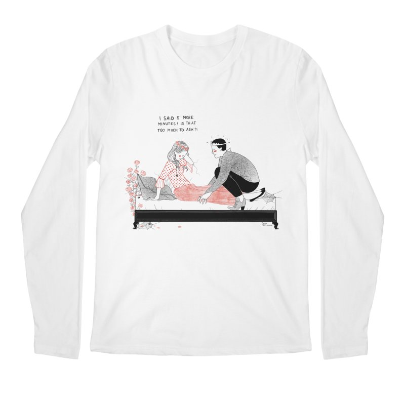 Sleeping Beauty Men's Regular Longsleeve T-Shirt by juliabernhard's Artist Shop