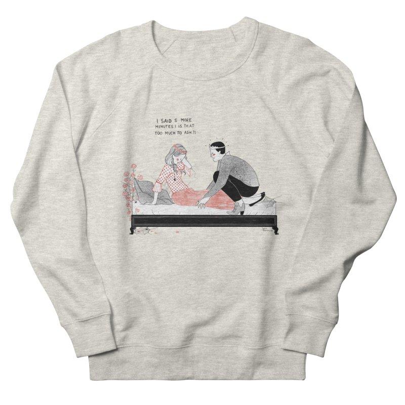 Sleeping Beauty Women's French Terry Sweatshirt by juliabernhard's Artist Shop