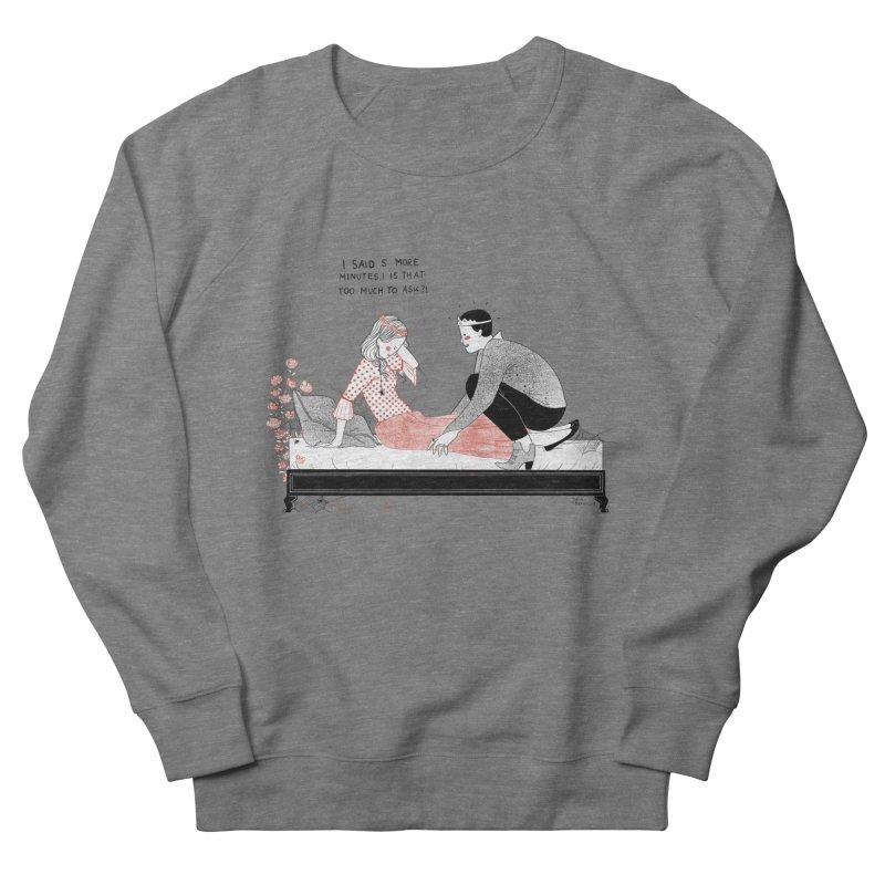 Sleeping Beauty Men's French Terry Sweatshirt by Julia Bernhard