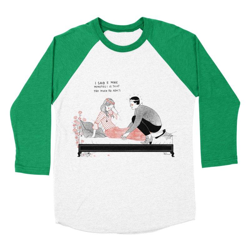 Sleeping Beauty Women's Baseball Triblend Longsleeve T-Shirt by juliabernhard's Artist Shop