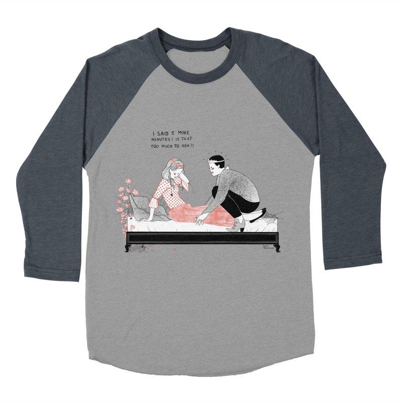 Sleeping Beauty Men's Baseball Triblend Longsleeve T-Shirt by Julia Bernhard