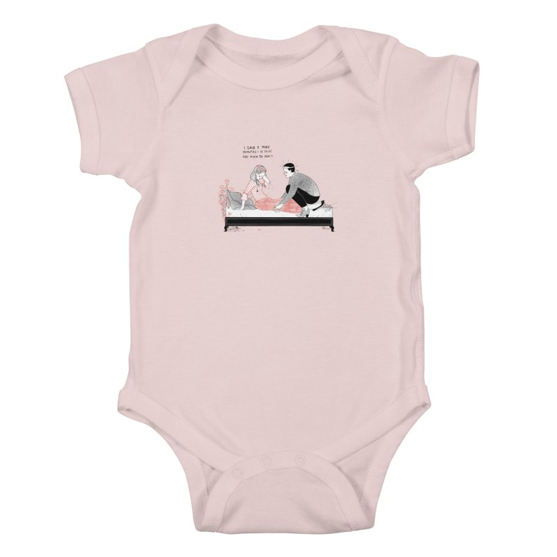 Sleeping Beauty Kids Baby Bodysuit by Julia Bernhard