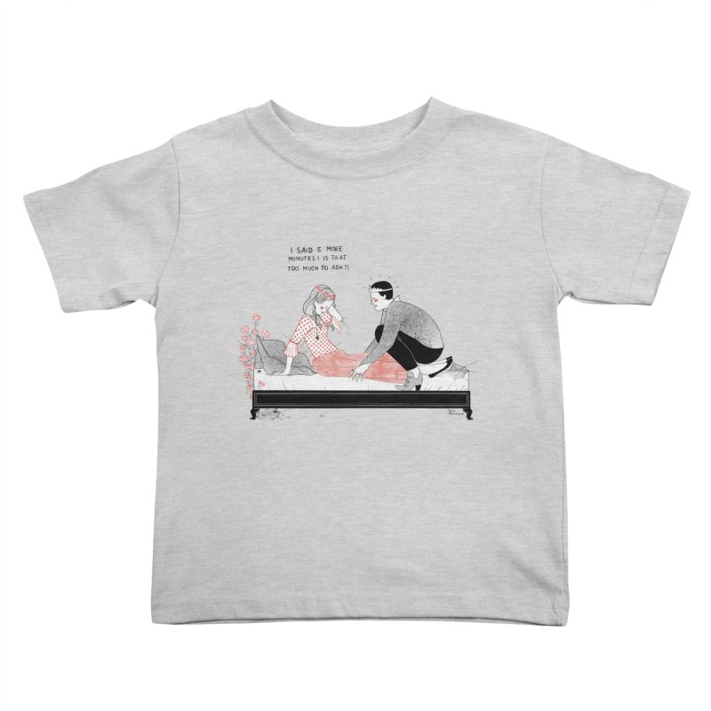 Sleeping Beauty Kids Toddler T-Shirt by juliabernhard's Artist Shop