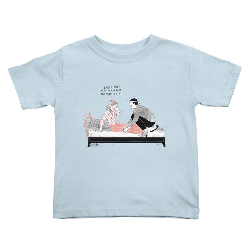 Sleeping Beauty Kids Toddler T-Shirt by Julia Bernhard