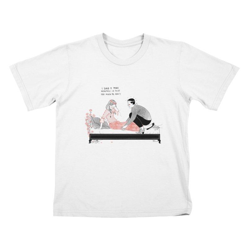 Sleeping Beauty Kids T-Shirt by juliabernhard's Artist Shop