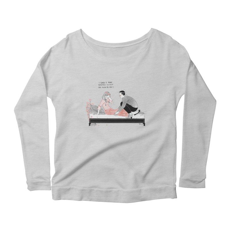 Sleeping Beauty Women's Scoop Neck Longsleeve T-Shirt by juliabernhard's Artist Shop