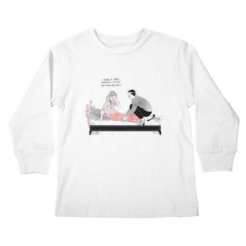 Sleeping Beauty Kids Longsleeve T-Shirt by Julia Bernhard