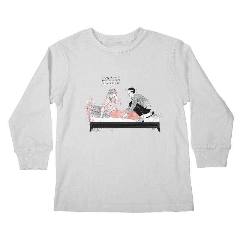 Sleeping Beauty Kids Longsleeve T-Shirt by juliabernhard's Artist Shop