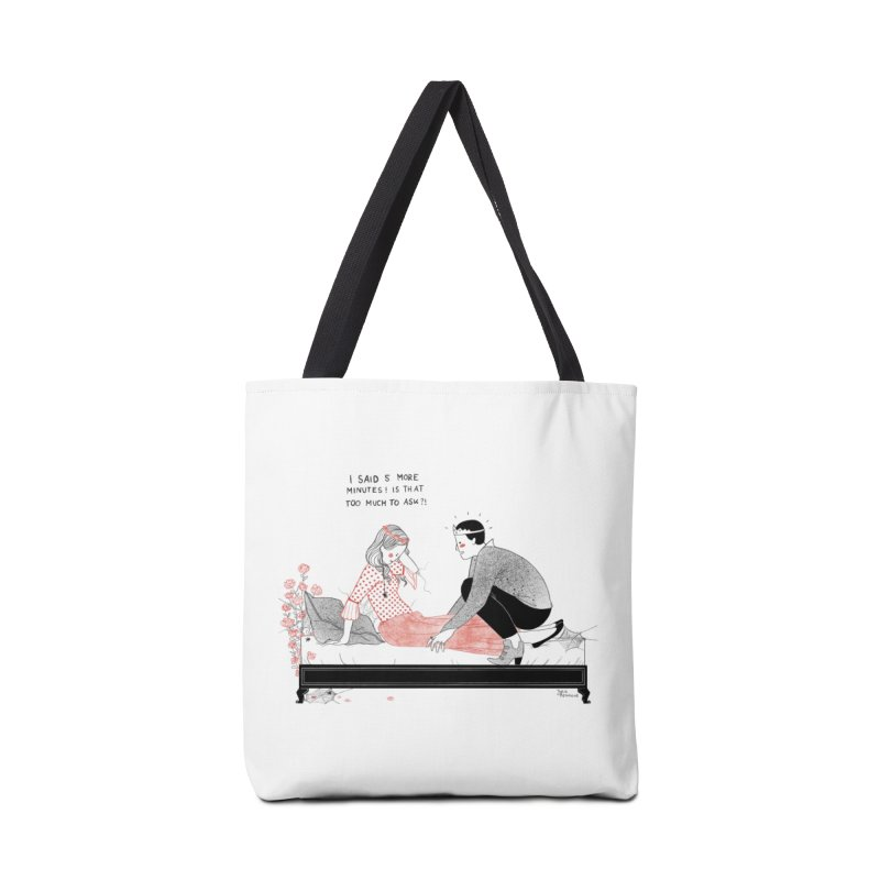 Sleeping Beauty Accessories Bag by juliabernhard's Artist Shop