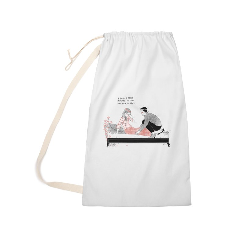 Sleeping Beauty Accessories Laundry Bag Bag by Julia Bernhard