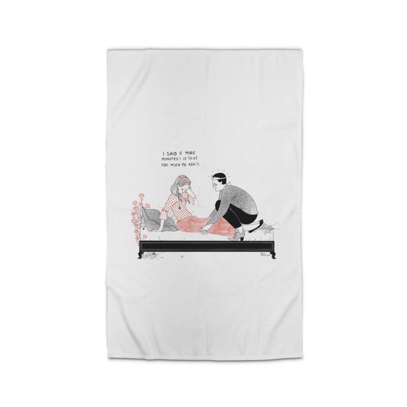Sleeping Beauty Home Rug by Julia Bernhard