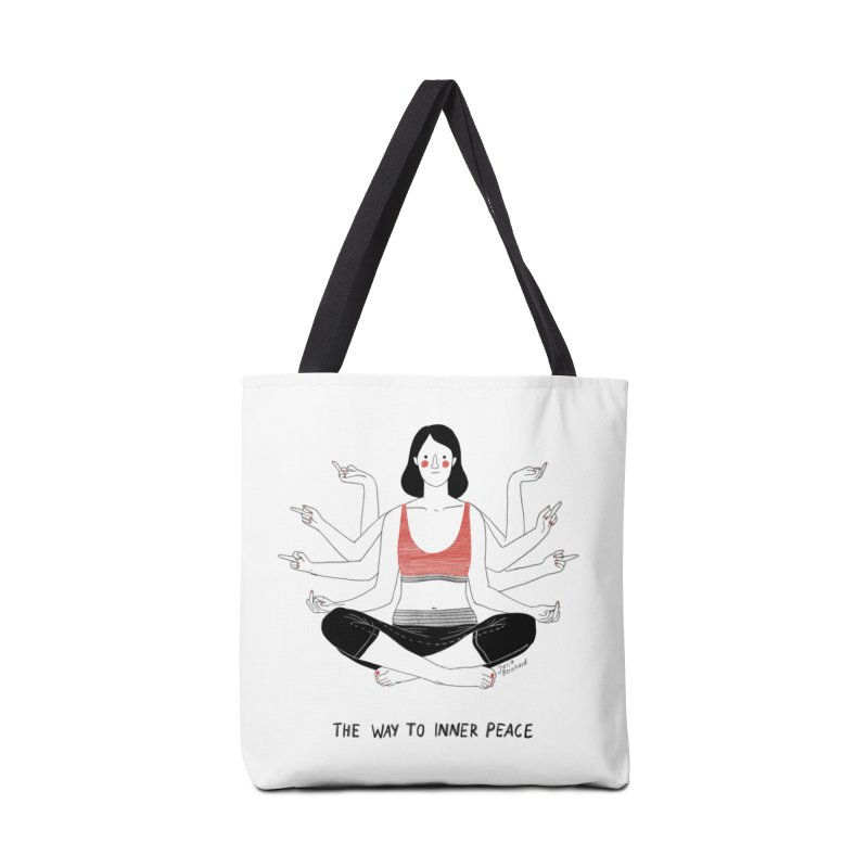 Inner Peace Accessories Bag by juliabernhard's Artist Shop