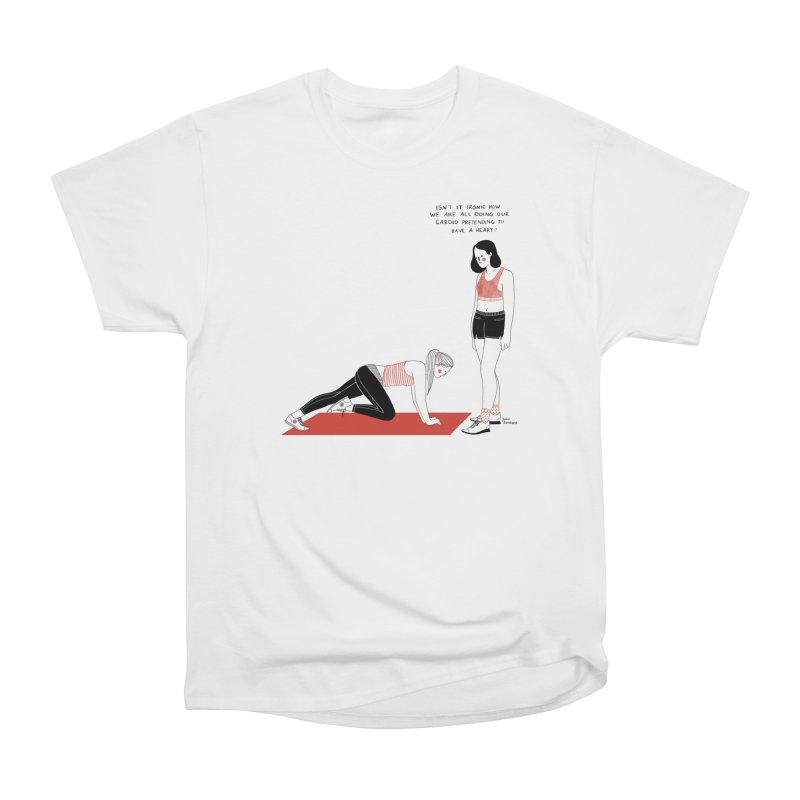 Heartless Cardio Women's Heavyweight Unisex T-Shirt by juliabernhard's Artist Shop