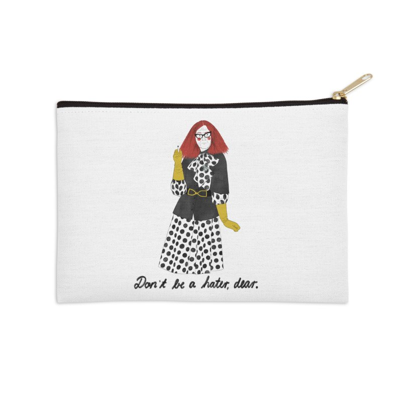 Myrtle Snow Accessories Zip Pouch by juliabernhard's Artist Shop