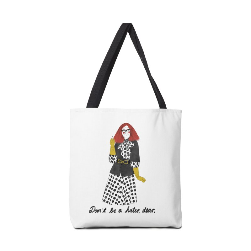 Myrtle Snow Accessories Tote Bag Bag by Julia Bernhard