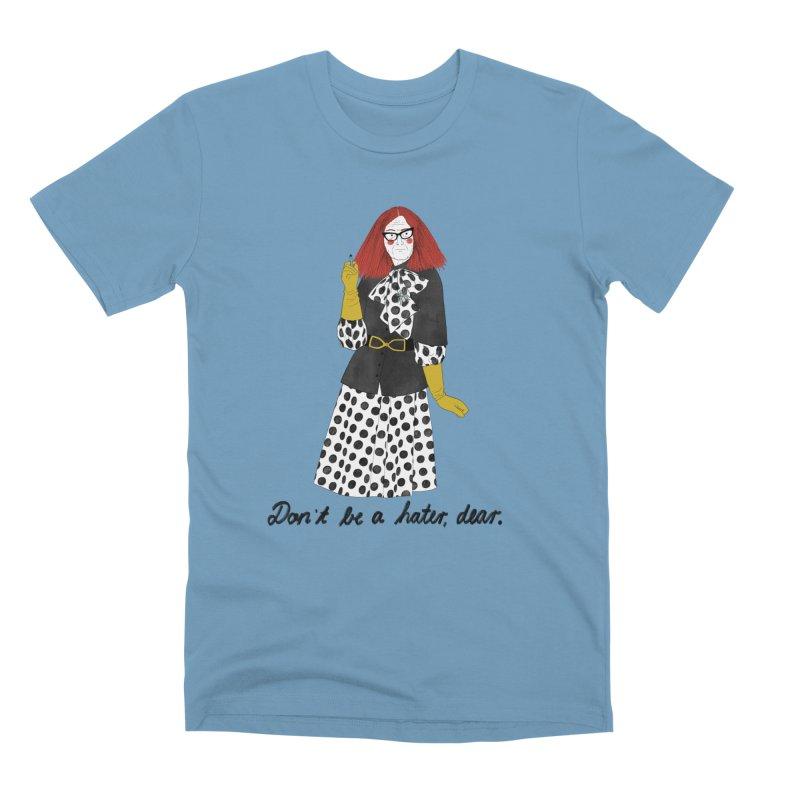 Myrtle Snow Men's Premium T-Shirt by juliabernhard's Artist Shop