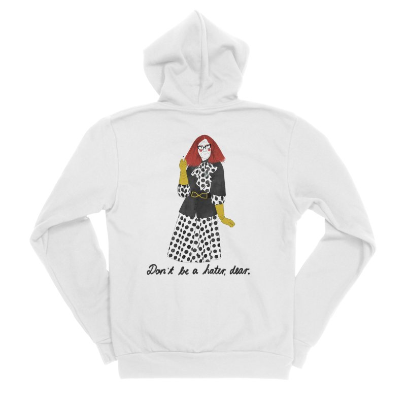 Myrtle Snow Men's Sponge Fleece Zip-Up Hoody by juliabernhard's Artist Shop