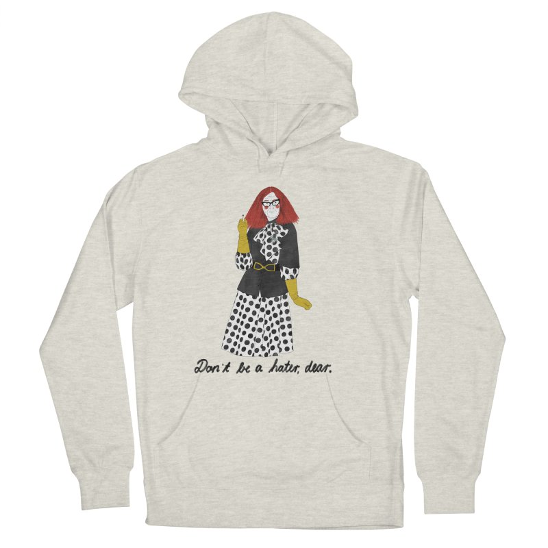 Myrtle Snow Men's French Terry Pullover Hoody by Julia Bernhard