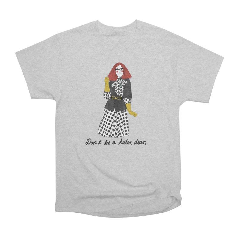 Myrtle Snow Men's Heavyweight T-Shirt by Julia Bernhard