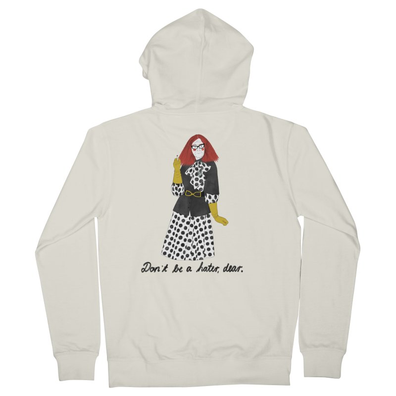 Myrtle Snow Women's French Terry Zip-Up Hoody by juliabernhard's Artist Shop