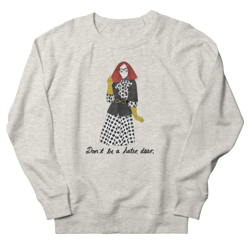 Myrtle Snow Men's French Terry Sweatshirt by Julia Bernhard