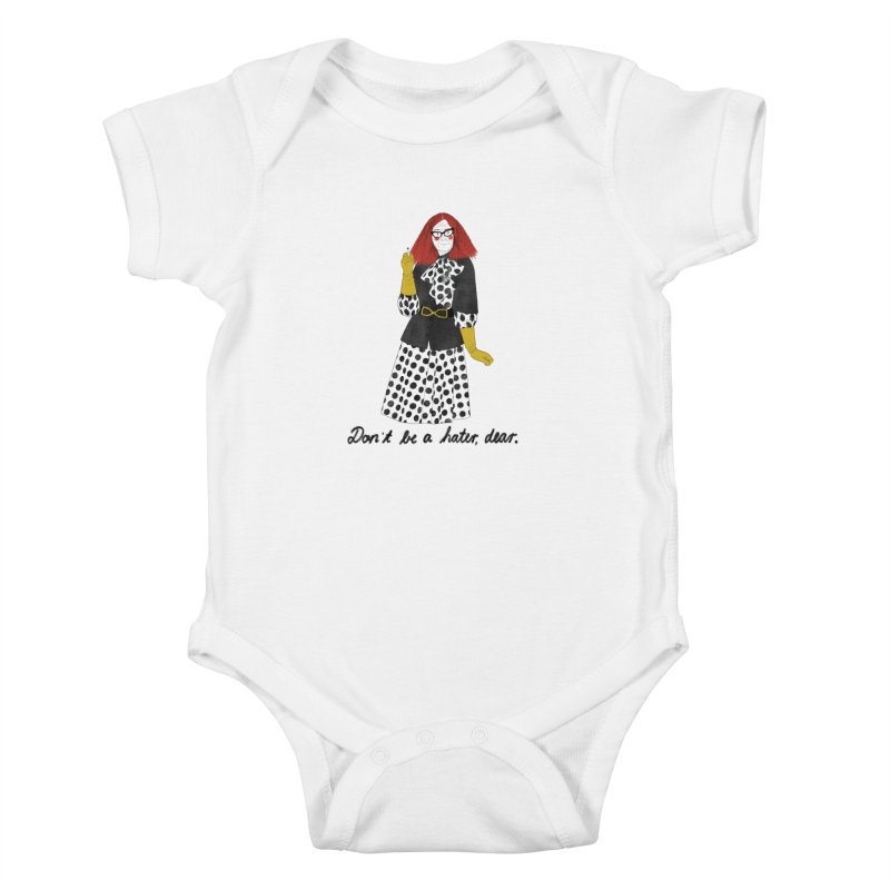 Myrtle Snow Kids Baby Bodysuit by juliabernhard's Artist Shop