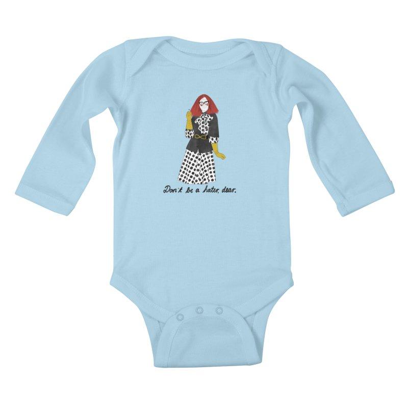 Myrtle Snow Kids Baby Longsleeve Bodysuit by Julia Bernhard