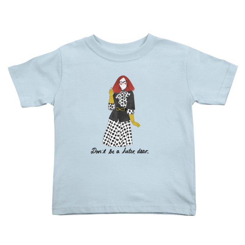 Myrtle Snow Kids Toddler T-Shirt by juliabernhard's Artist Shop