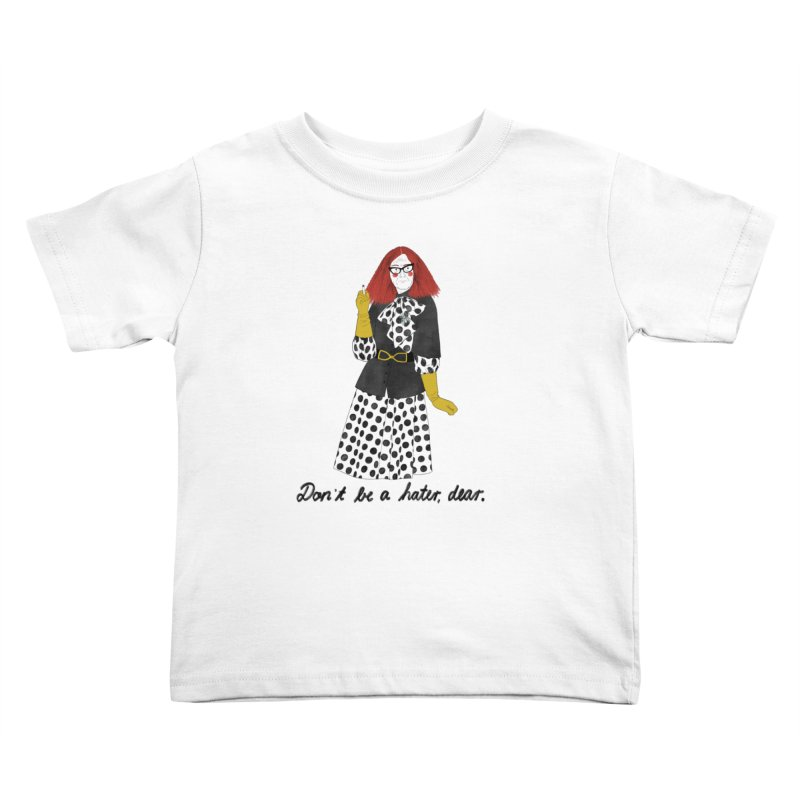 Myrtle Snow Kids Toddler T-Shirt by Julia Bernhard