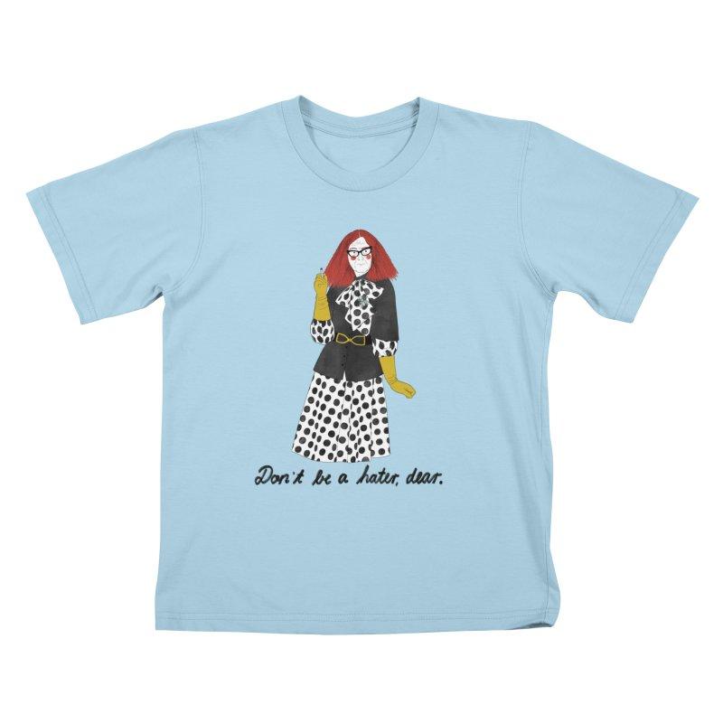 Myrtle Snow Kids T-Shirt by juliabernhard's Artist Shop