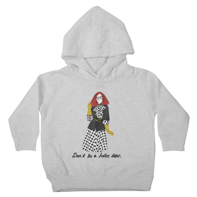 Myrtle Snow Kids Toddler Pullover Hoody by juliabernhard's Artist Shop