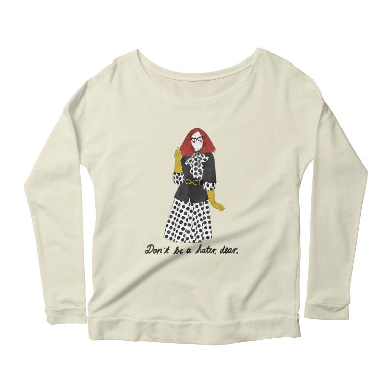 Myrtle Snow Women's Scoop Neck Longsleeve T-Shirt by juliabernhard's Artist Shop
