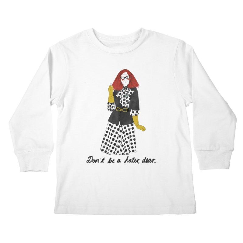 Myrtle Snow Kids Longsleeve T-Shirt by juliabernhard's Artist Shop