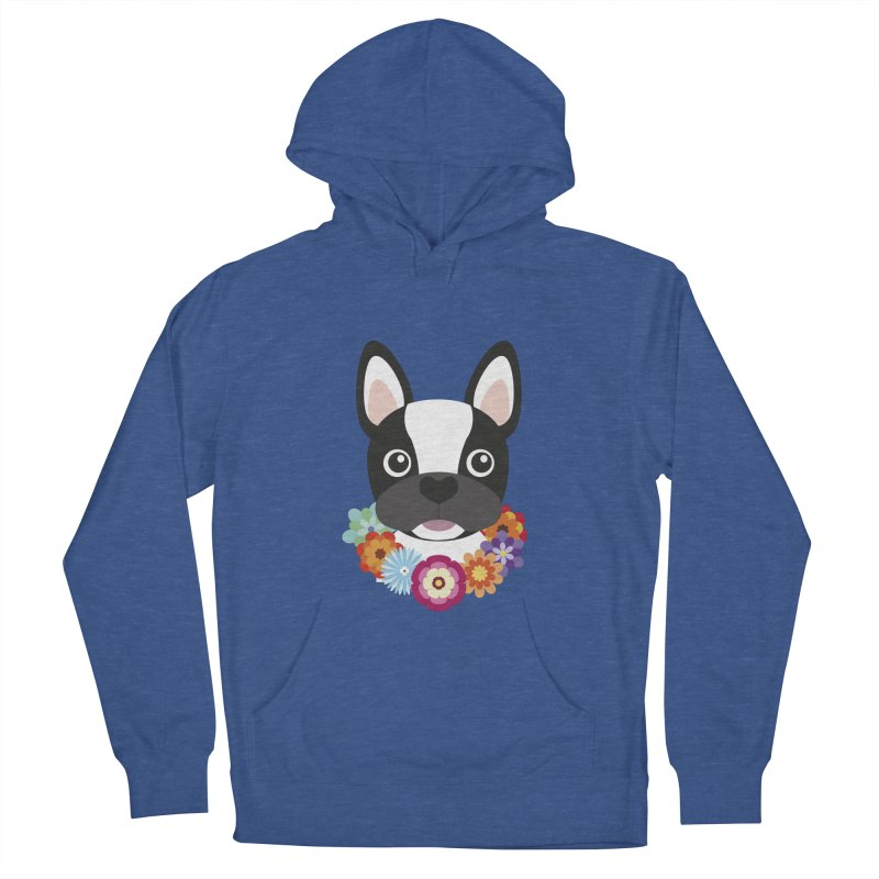 French Bulldog Men's Pullover Hoody by Juliana Motzko