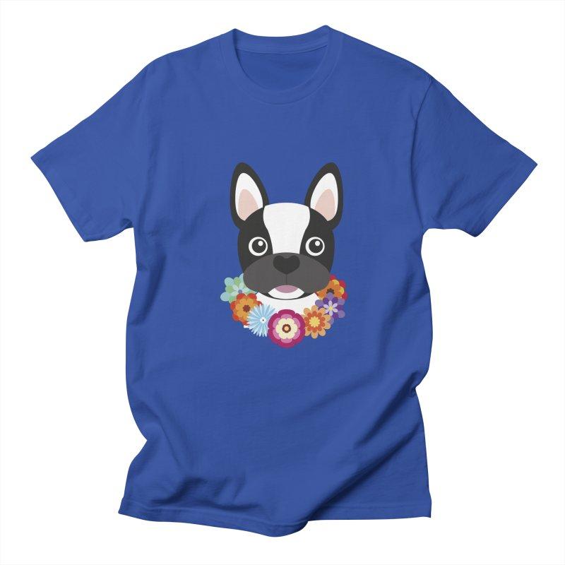 French Bulldog Men's T-Shirt by Juliana Motzko