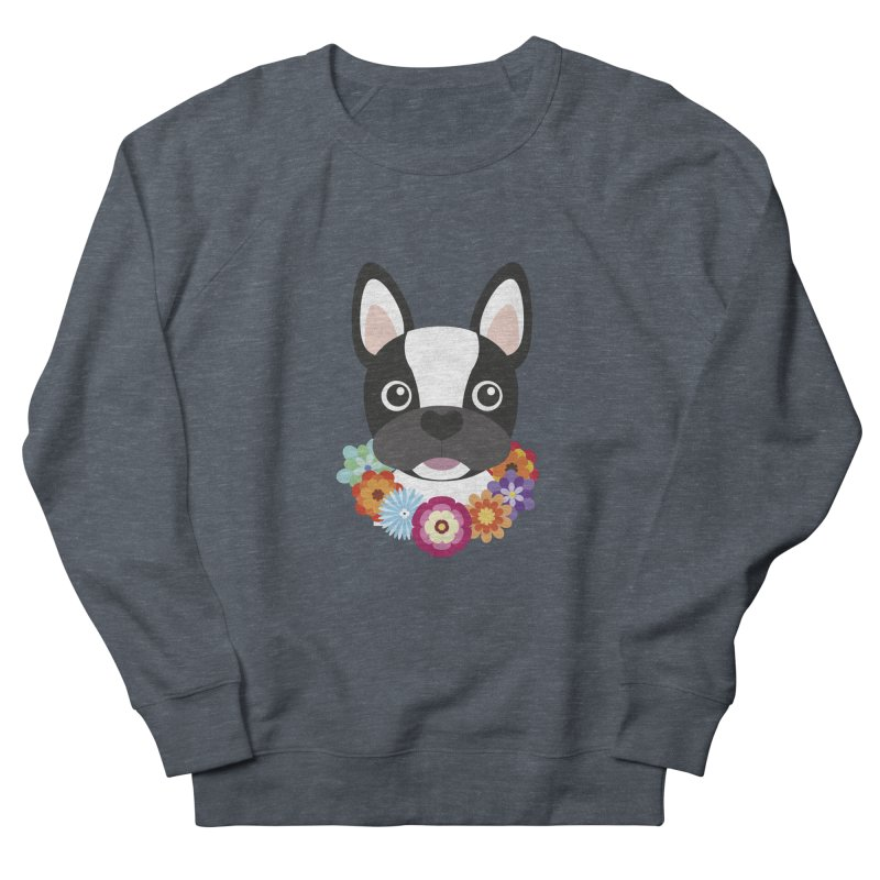 French Bulldog Men's Sweatshirt by Juliana Motzko