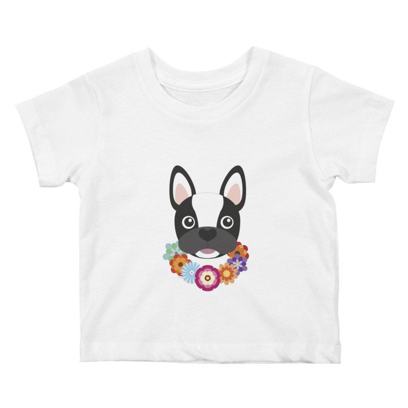 French Bulldog Kids Baby T-Shirt by Juliana Motzko