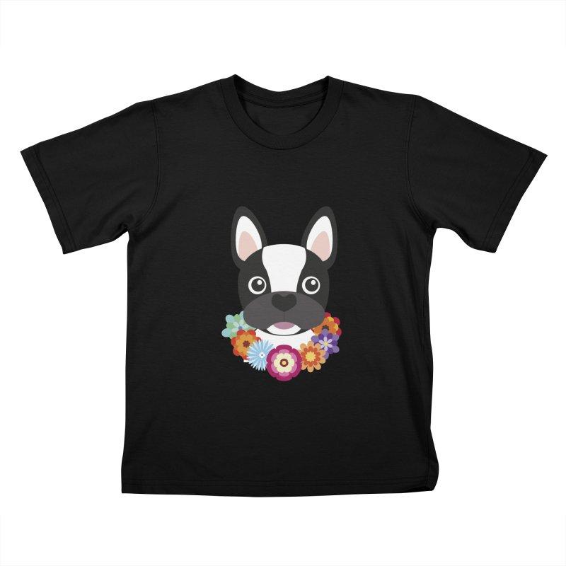 French Bulldog Kids T-shirt by Juliana Motzko