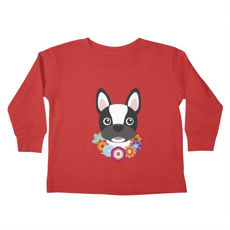 French Bulldog Kids Toddler Longsleeve T-Shirt by Juliana Motzko