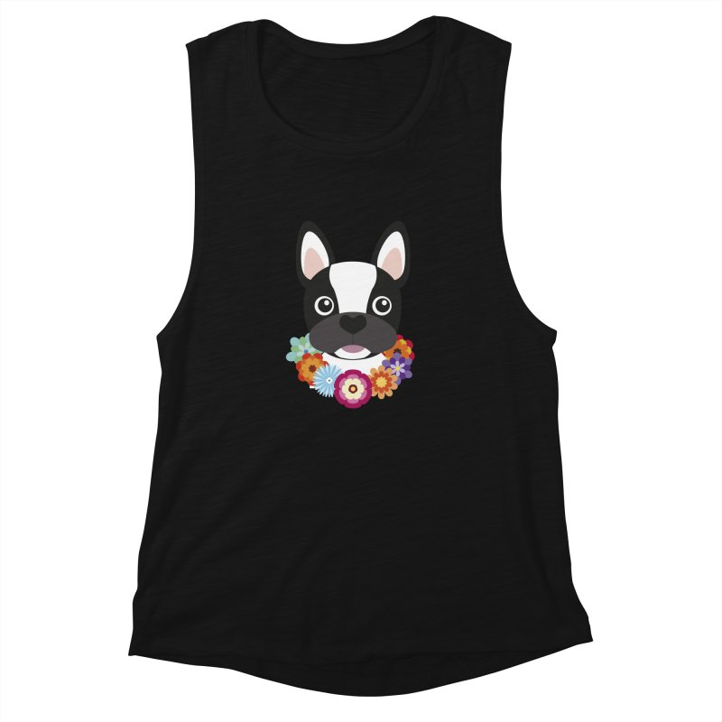 French Bulldog Women's Muscle Tank by Juliana Motzko