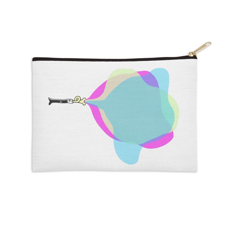 Tune Fish Accessories Zip Pouch by julianepieper's Artist Shop